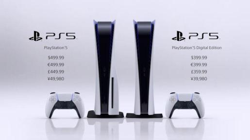 La PS5 saldrá el 19 de noviembre de 2020 a 399,99€
