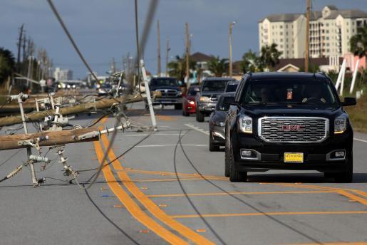 Efectos del ciclón Sally en Florida.