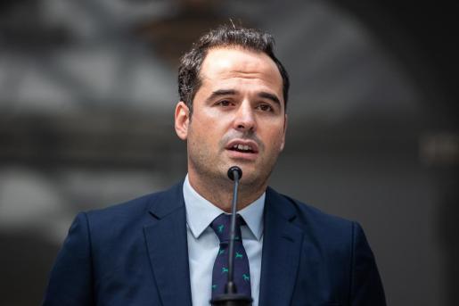 El vicepresidente de la Comunidad de Madrid, Ignacio Aguado, durante su comparecencia este jueves.