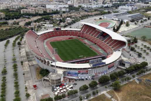 Vista aérea del Visit Mallorca Estadi.