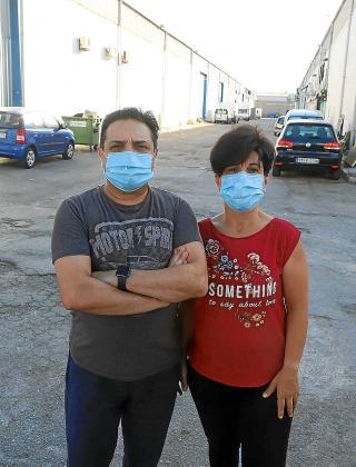 Miguel Daniel y Carmen Angeló, dueños de PalmaBall.