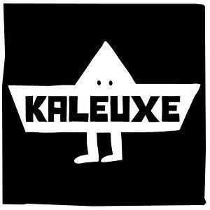 Cartel del establecimiento de arte contemporáneo Kaleuxe.