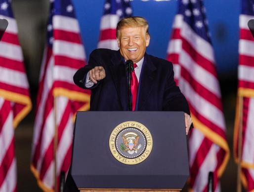 El presidente, que se presenta a la reelección el próximo 3 de noviembre, sentenció que en el país existe un «movimiento radical» que intenta «demoler» la herencia estadounidense.