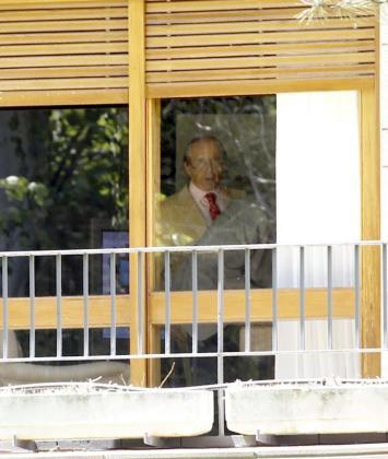 El empresario José María Ruiz Mateos, en el interior de su casa de Somosaguas, en una imagen de archivo.