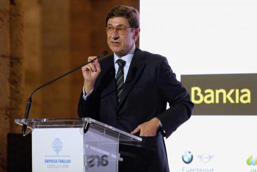 El hasta ahora presidente de Bankia ha explicado en una nota de prensa conjunta que esta fusión, que conforma «la primera franquicia española», contribuirá también a reforzar la solidez del sistema financiero.