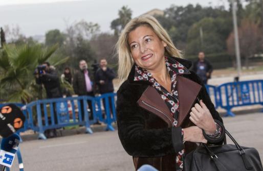 La abogada Virginia López Negrete.