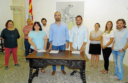 Nuevo revés para el pacto de gobernabilidad, firmado en junio de 2019 entre PSOE, PI y Bloc.