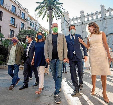La mesa de diálogo social estatal se reunió en Palma el 4 de septiembre.