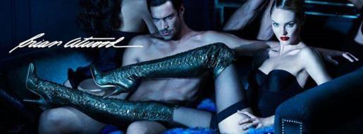 Campaña publicitaria de la modelo Swanepoel para la firma Brian Atwood.