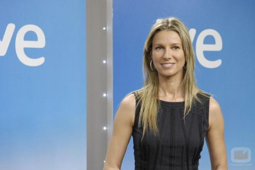 La presentadora de televisión Anne Igartiburu.