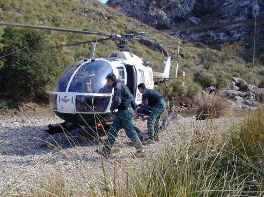 Imagen de archivo del Grupo Especial de Rescate de Montaña (GREIM) de la Guardia Civil.