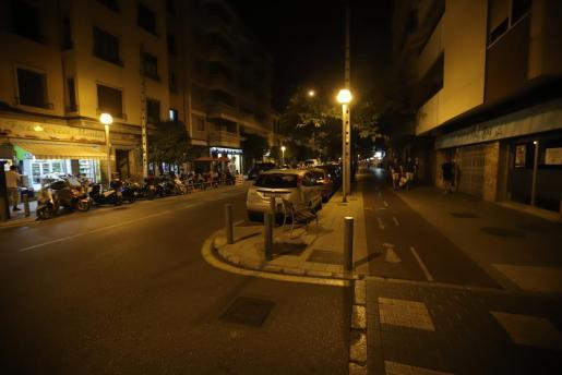 Imagen de s'Arxiduc en la primera noche de aislamiento.      FOTO : BOTA