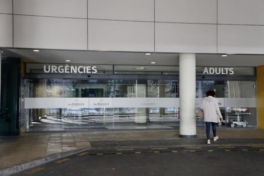 El accidentado se encuentra en el hospital de Son Espases, con pronóstico reservado.