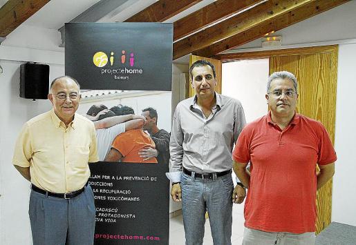 Tomeu Català, Juan Manuel Quetglas y Xavier Bonet presentaron el estudio.