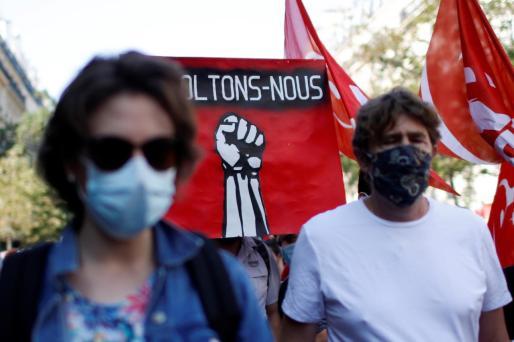 Protesta en Francia.