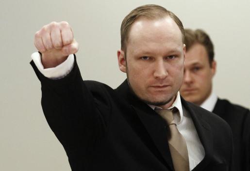 Anders Behring Breivik, durante el juicio.