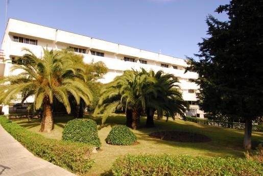Fachada de la residencia de La Bonanova.