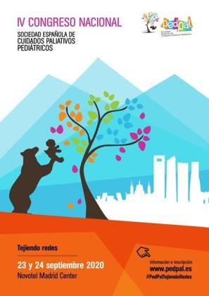 Cartel del IV congreso Nacional de PEDPAL.