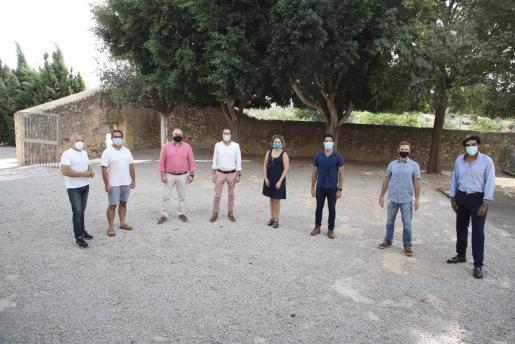 Algunos de los finalistas de la categoría Connect'Up Start, en las instalaciones del Parc Bit.