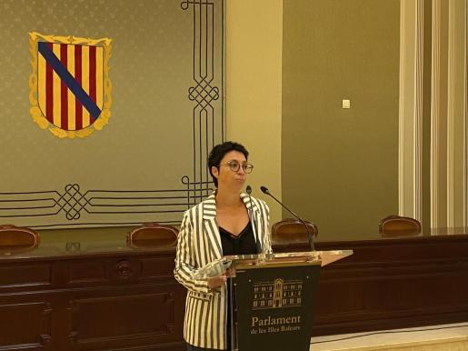 Silvia Cano, secretaria de Igualdad de los socialistas de Baleares.