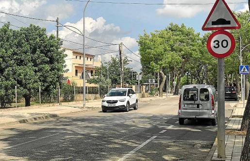 En la Avinguda del Cocó la velocidad ya está limitada a 30 km/hora.