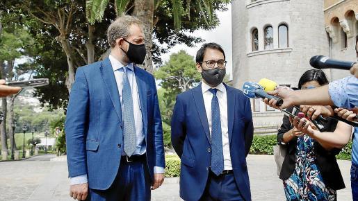 El secretario de Estado de Turismo, Fernando Valdés, inició este miércoles su primera visita oficial en el cargo a Baleares.