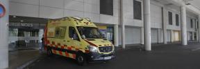 Herido un motorista en un accidente en la carretera de Sineu