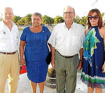José Ramón Bono, Coloma Terrasa, Emilio Espinosa y Josefina Linares.
