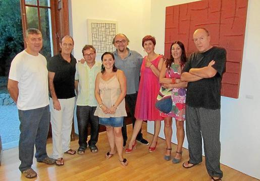 Antoni Sacarés, Txema González, Pere Joan, Carol Constantino, Tátum, Marga Nicolau, Cristina Gracia y Joan Segura.
