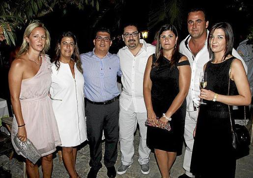 Malena Mesquida, Victoria Sánchez, Julio Saenz, Alessandro Feroci, Gabriela Llovera, Juan Antonio Quetglas y María José Calabria.