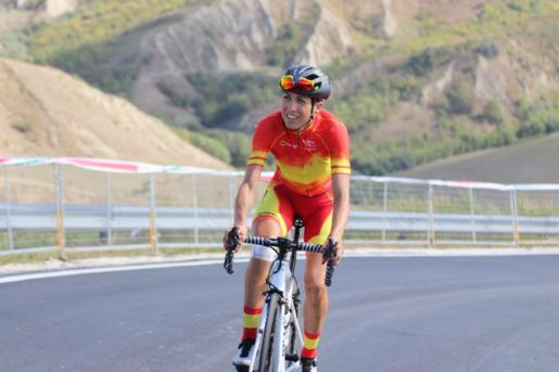 La mallorquina Mavi García ha realizado este viernes un reconocimiento del trazado donde se disputará la carrera.