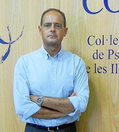 Javier Torres, decano del Colegio de Psicólogos de Baleares.