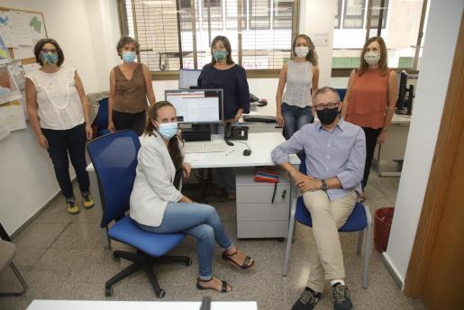 El equipo ha reenfocado todo su trabajo a la pandemia.     FOTO: BOTA