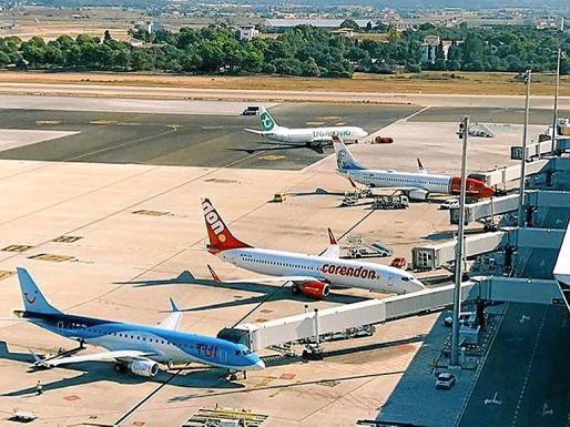 El tráfico aeroportuario será simbólico durante todo el invierno.