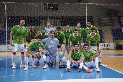 El Palma Futsal se lleva el Ciutat de Palma con otra gran victoria contra ElPozo