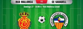 DIRECTO | Real Mallorca-Sabadell