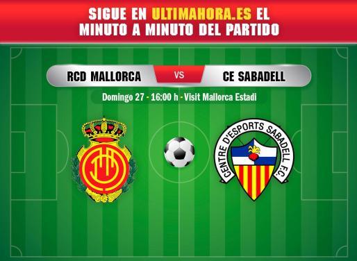 El Mallorca afronta la tercera jornada del campeonato en Segunda División recibiendo al Sabadell en Son Moix.