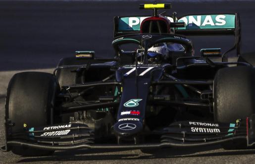 El piloto finlandés Valtteri Bottas rodando en el Gran Premio de Rusia.