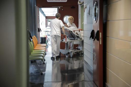 Imagen del interior del hospital de Son Espases.