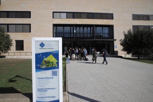 Imagen del inicio de curso en la UIB.