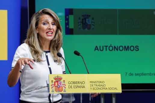 La ministra de Trabajo y Economía Social, Yolanda Díaz, en una reciente imagen.