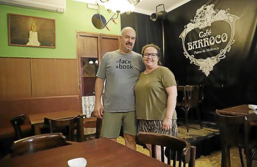 Martín Louro y Eva Durán han estado al frente de este local de Palma durante los últimos 28 años.