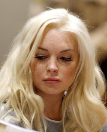 Imagen de archivo de la actriz estadounidense Lindsay Lohan.
