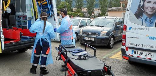 Ambulancias del IB-Salut se desplazaron a Sóller cuando se intervino Bell Entorn.