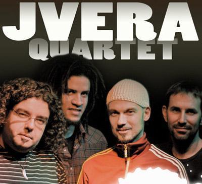 Imagen promocional del grupo Jvera Quartet.