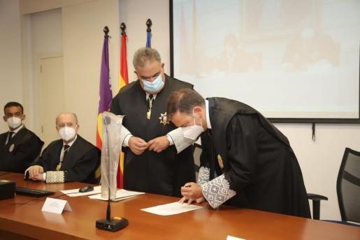 Julio Cano toma posesión como teniente fiscal de la Fiscalía Superior de Baleares.