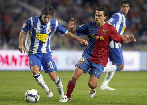Imagen de archivo de Coro, en un partido del RCD Espanyol contra el Barcelona.