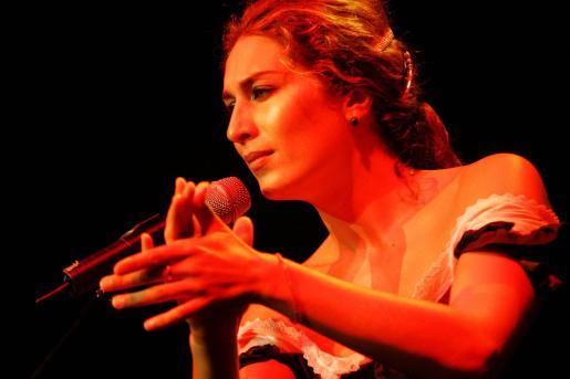 La Cantaora Estrella Morent actúa en el Auditórium de Palma.