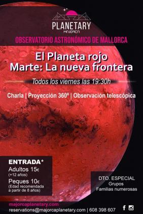El Planetario de Mallorca brinda una experiencia única para viajar por el espacio y el tiempo.