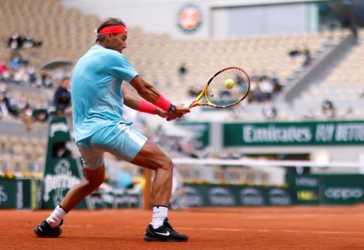 Rafa Nadal en Roland Garros.